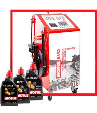 MotulEvo – výmena oleja v automatickej prevodovke s účinnosťou takmer 100%